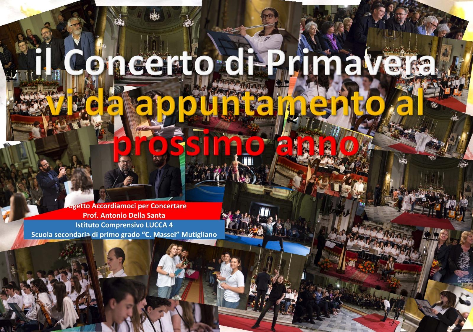Concerto di primavera 2020