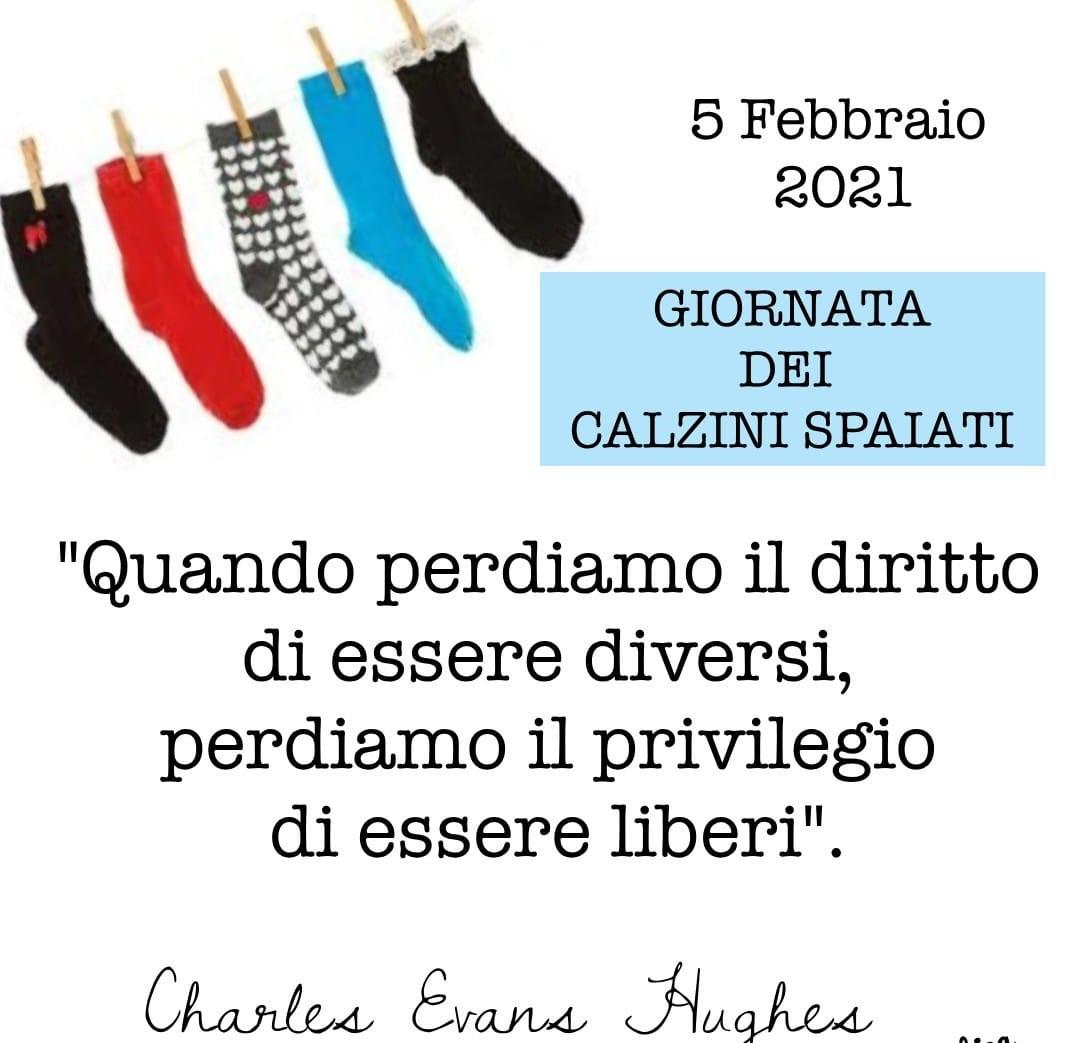 5 febbraio: Giornata dei calzini spaiati