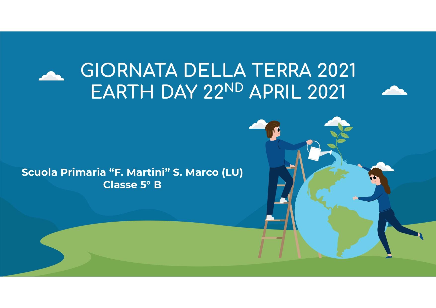 Giornata Mondiale della Terra 22-04-2021